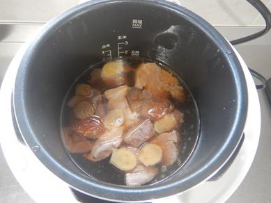 豚肉の梅煮P3