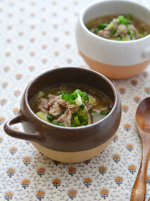 黒豚とさつまいものスープ