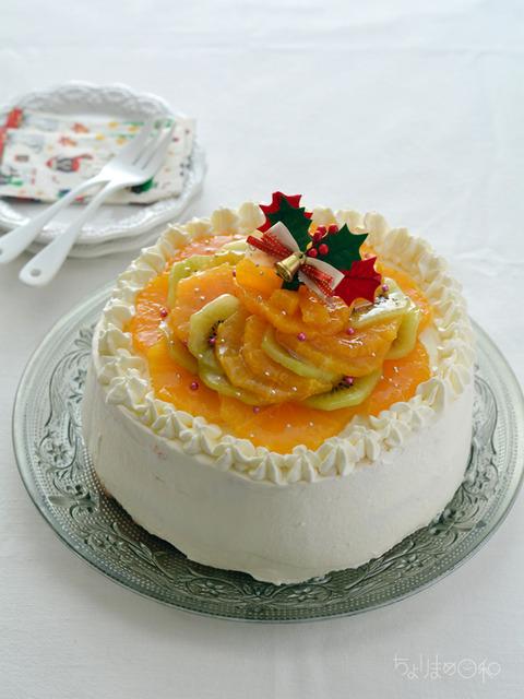 サンセレブとキウイのケーキ