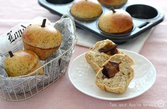 紅茶とりんごのパン_TOMIZ1904-4