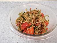切り干し大根のトマト黒酢中華サラダP3
