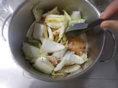 白菜ベーコンのスープ煮190212-P2