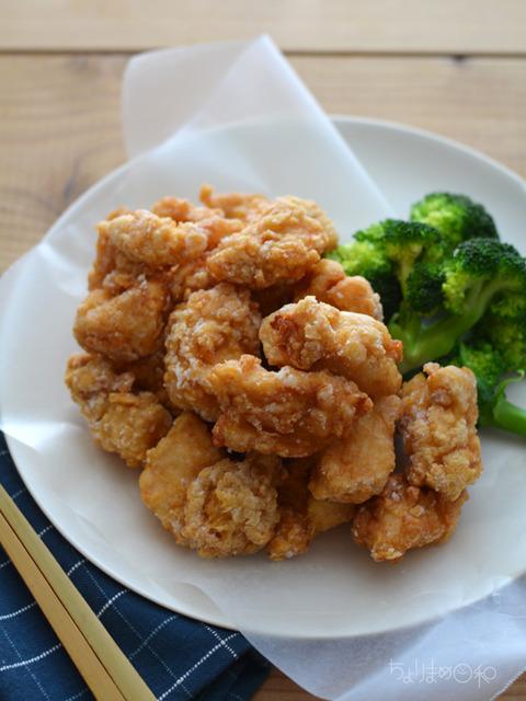 鶏の昆布醤油から揚げ2