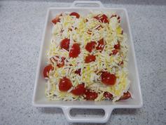 豆腐のしらすチーズグラタンP4