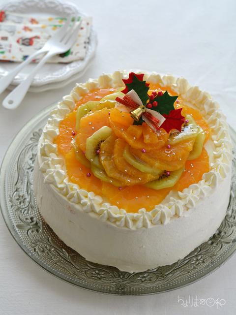 サンセレブとキウイのケーキ2