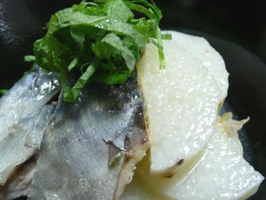 鯖と長いもの塩煮2