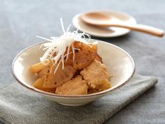 鶏だんごと焼き大根の煮物R3
