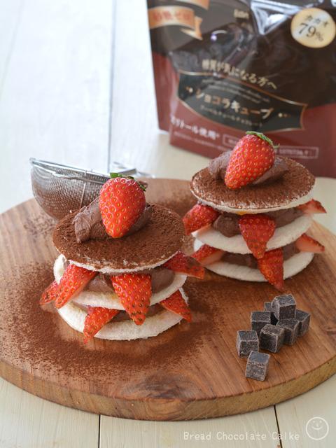 ショコラキューブビターの食パンチョコレートケーキ_BOM1901
