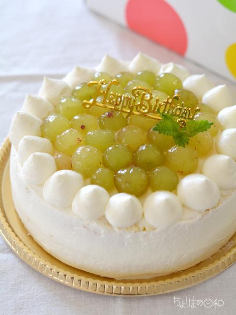 誕生日ケーキ180719
