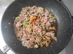 豚ひき肉とキャベツのほんのり甘みそ炒め190725-P3