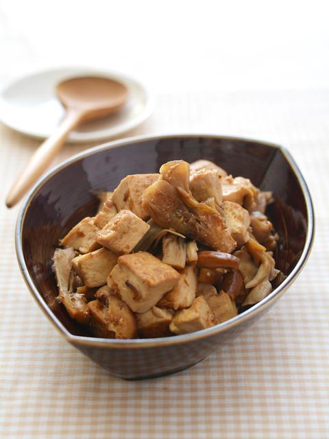 きのこ豆腐_献立レシピ201709