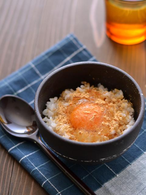 きなこ醤油の卵かけごはんR2