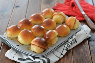 マシュマロバターのマッシュルームパン4