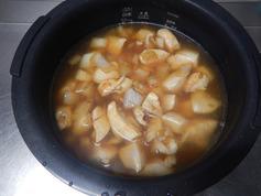 鶏肉の生姜炊き込みごはん210922-P3