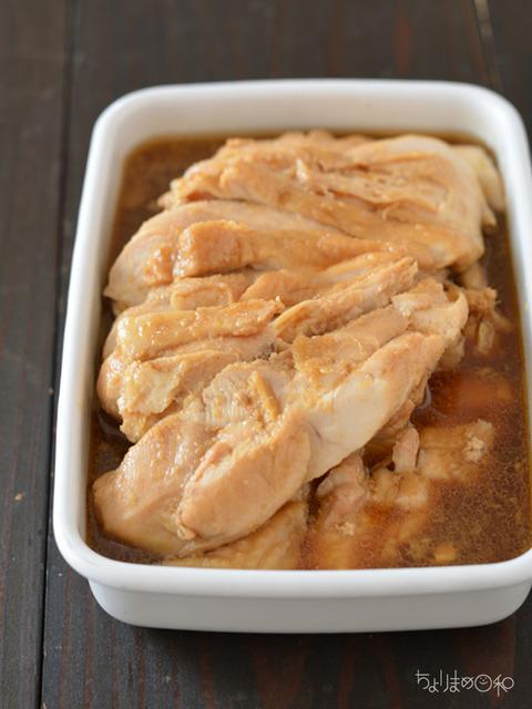 作り置き191104_レンジ香味鶏チャーシュー
