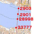 銚子大橋に沿うボーリング柱状図Ed