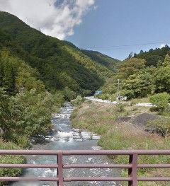橋から見る鹿塩川Ed