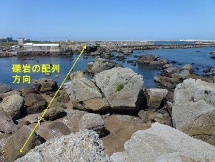 黒生漁港_トンビ岩から北を望む