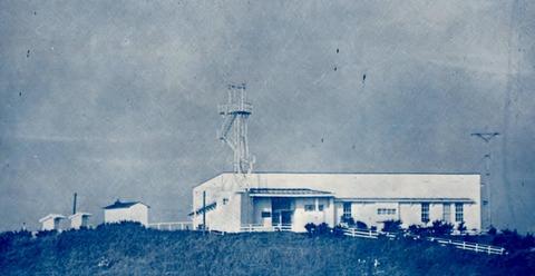 銚子測候所当時の全景