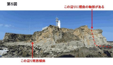 12D_犬吠埼の褶曲構造