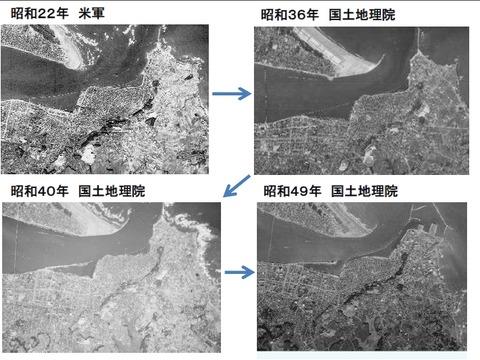 利根川河口の変遷1