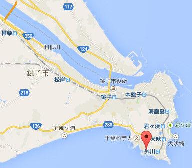 ①銚子市域の地図Ed