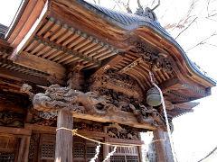諏訪神社拝殿彫刻Ed