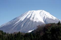 晴れの大山
