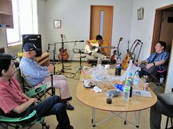 ギターと座談会