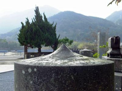 神通寺の石