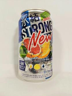 果汁のうまさ2倍 キリン 氷結®ストロング グレープフルーツ 350ml缶