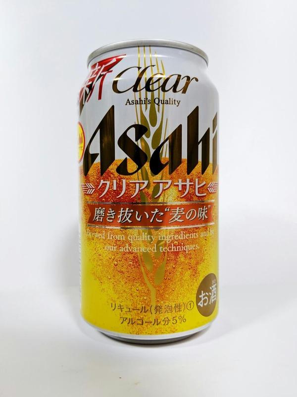 アサヒ クリアアサヒ リキュール(発泡性) アルコール分6%