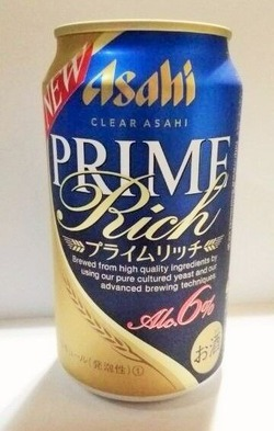 アサヒ クリアアサヒ プライムリッチ 350ml