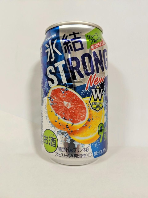 キリン 氷結®ストロング グレープフルーツ W氷結ストレート果汁 糖類ゼロ×プリン体ゼロ スピリッツ(発泡性) 果汁3.7%