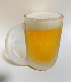 キリンビールの新・本麒麟 ジョッキ
