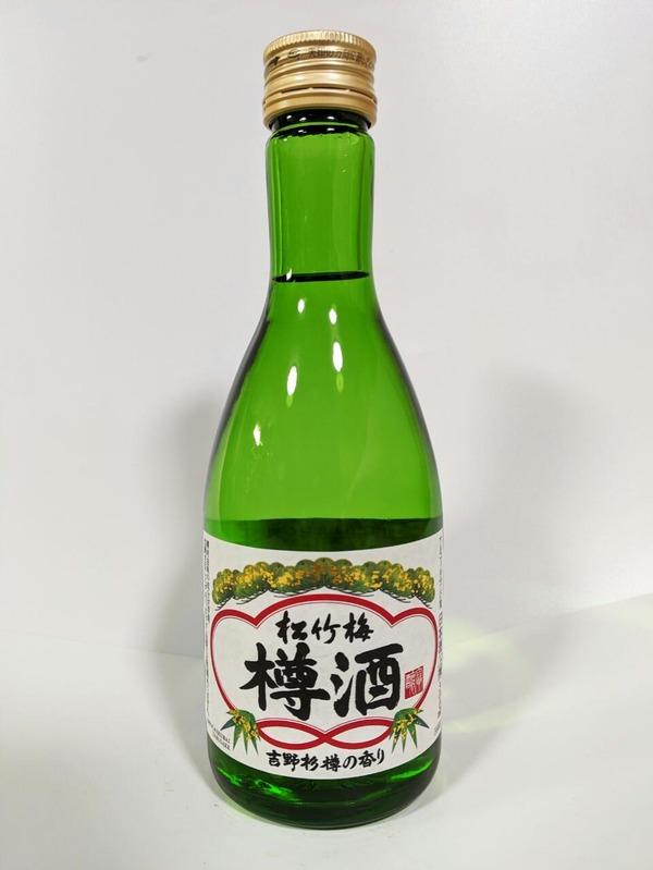 京都・伏見 宝酒造 松竹梅「樽酒」〈吉野杉樽の香り〉