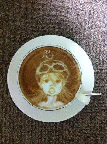 コーヒーアート041(拡大表示)