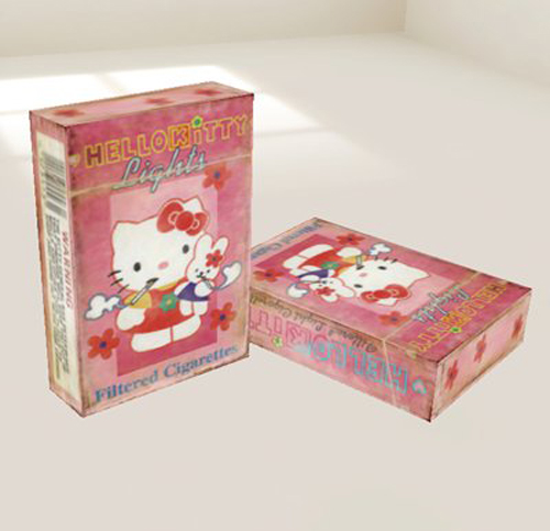 Hello-Kitty-Cigarettes-Lighter-1(拡大表示)