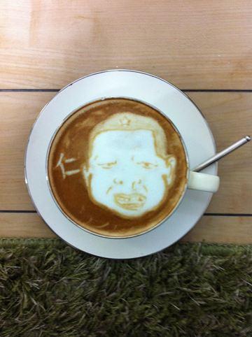 コーヒーアート027(拡大表示)