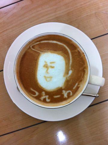コーヒーアート014(拡大表示)