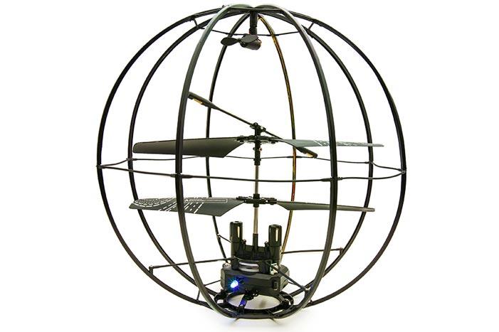 球体ヘリコプター(拡大表示)