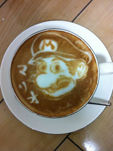 コーヒーアート011(拡大表示)