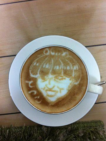 コーヒーアート034(拡大表示)