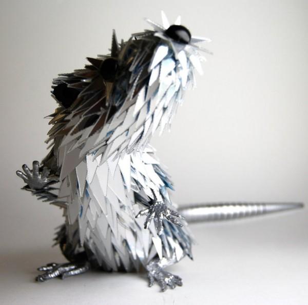 animal-sculptures-made-from-cds-8(拡大表示)