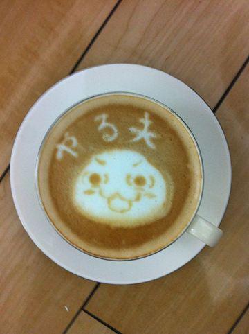 コーヒーアート003(拡大表示)