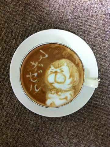 コーヒーアート047(拡大表示)