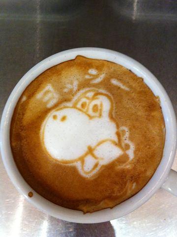 コーヒーアート012(拡大表示)