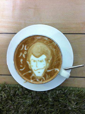 コーヒーアート018(拡大表示)