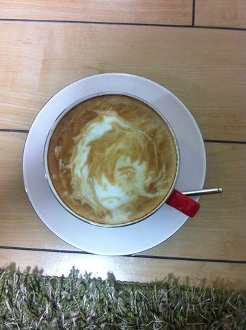 コーヒーアート015(拡大表示)