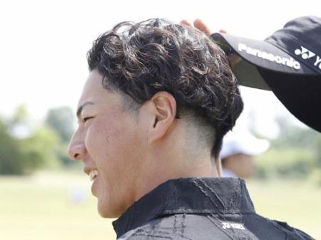 石川遼の髪型(拡大表示)